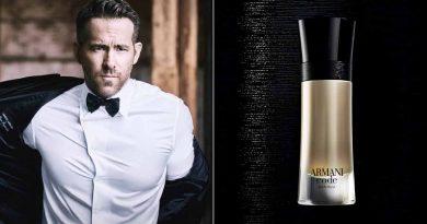 Ryan Reynolds како рекламно лице за новиот Armani Code Absolu