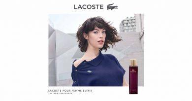 Парфемска премиера! Lacoste Pour Femme Elixir