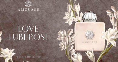 Amouage го претставува Love Tuberose, новиот мирис од колекцијата Secret Garden!