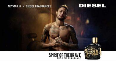 Нов Diesel мирис креиран во соработка со фудбалерот Neymar Jr!