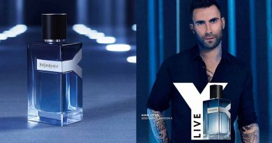 Adam Levine фронтменот на групата Marron 5 заштитно лице на новиот Yves Saint Laurent Y Live