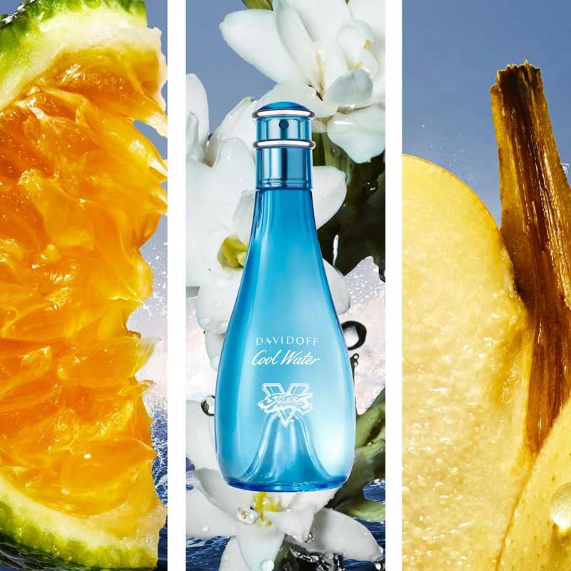 davidoff cool water for her ingredients