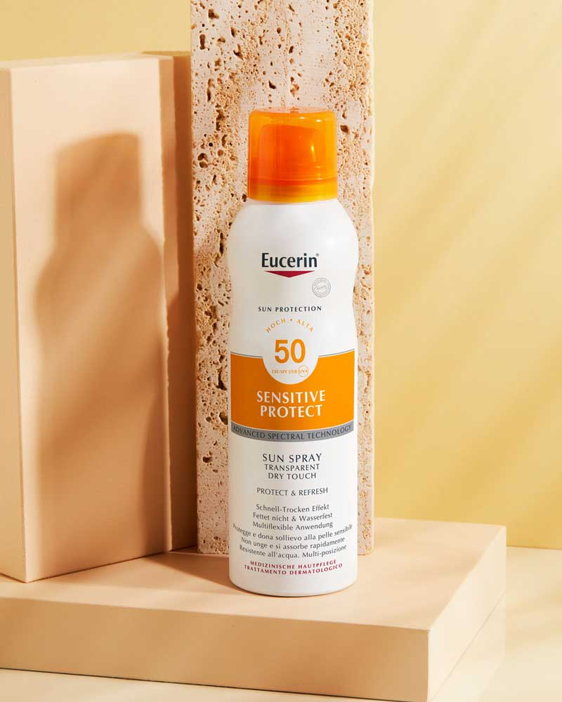 eucerin sun spray f50