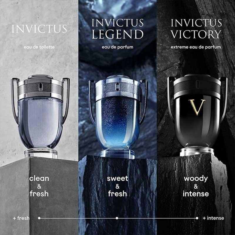 Paco Rabanne Invictus compare