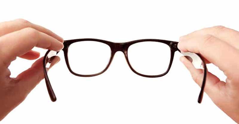 шминкање наочари