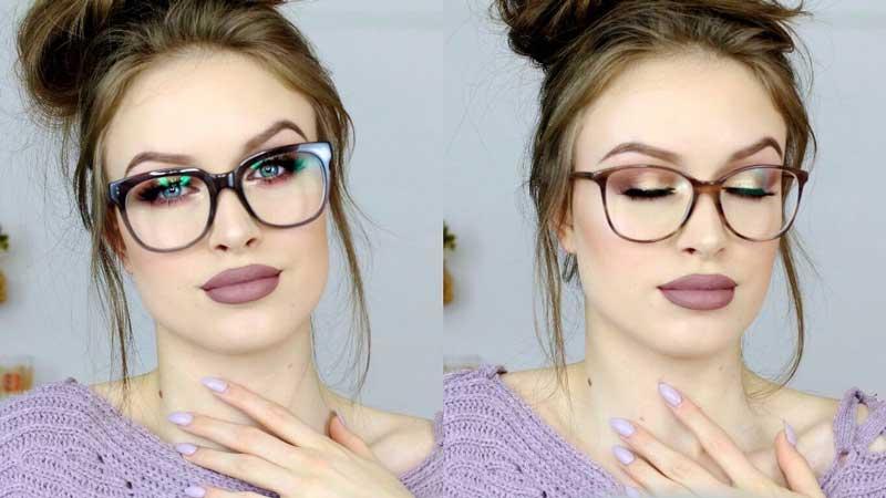 шминкање со наочари