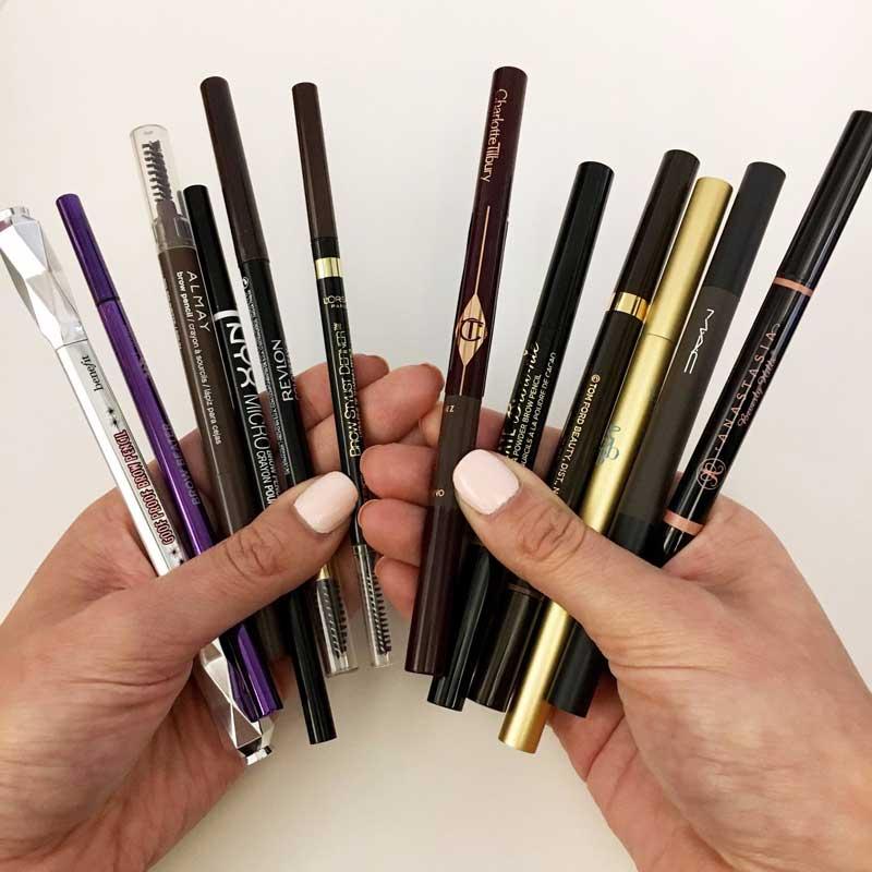 моливи за веѓи разни брндови