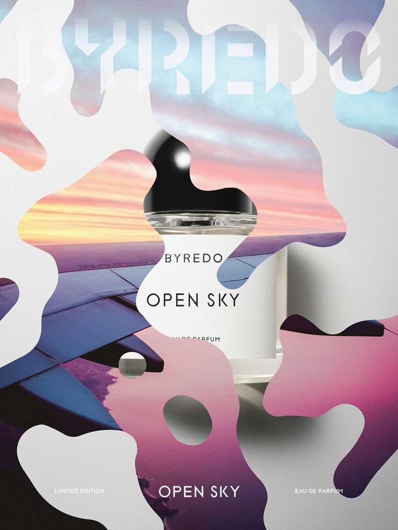 Byredo Open Sky poster