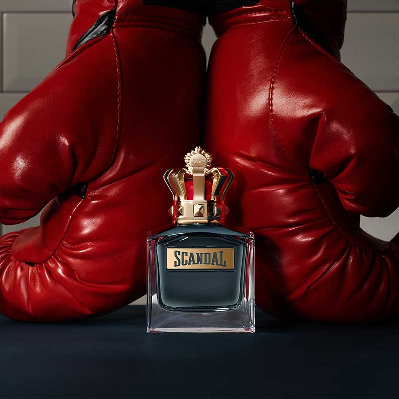 Scandal Pour Homme boxing gloves