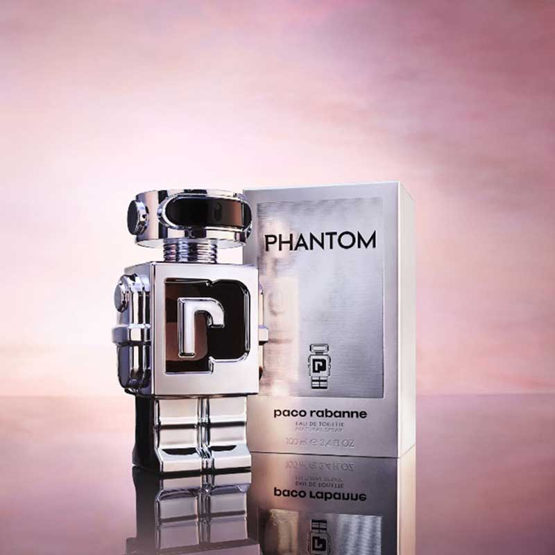 Paco Rabanne Phantom bottle and package