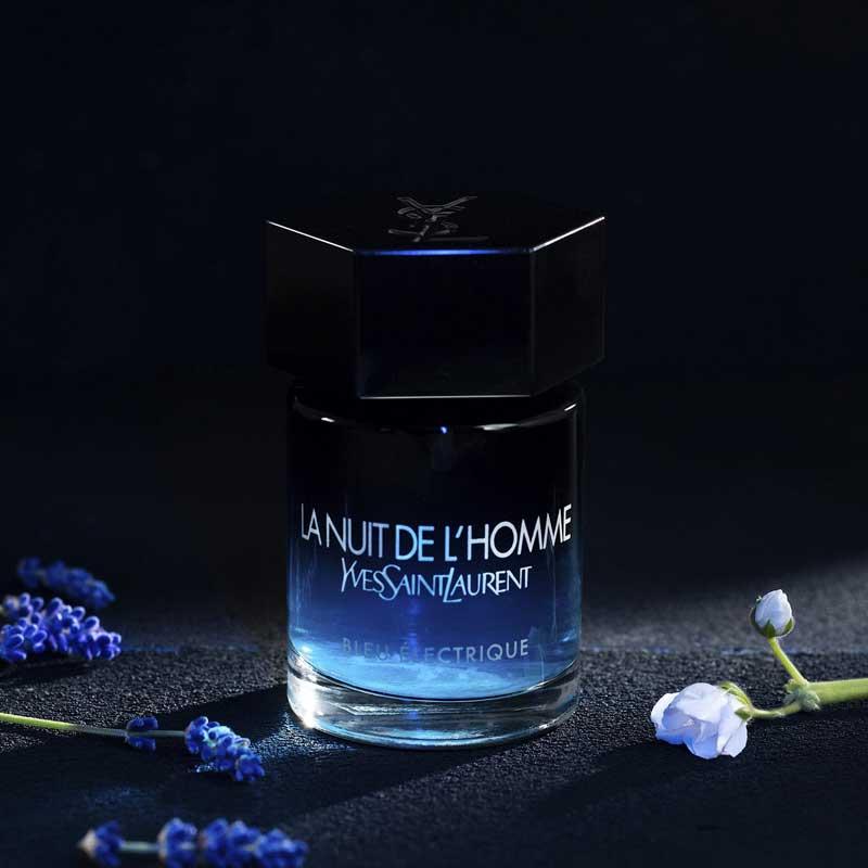 La Nuit de L'Homme Bleu Electrique bottled